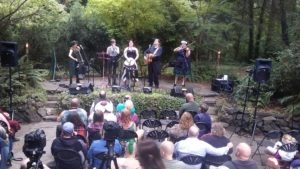 A past performance at Music Under the Trees.